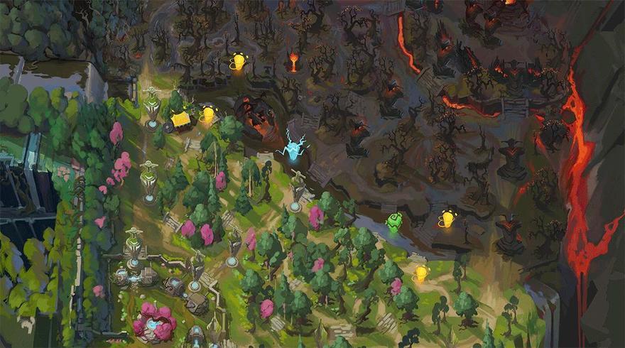 地图控制下Dead Lane概念与兵线的处理