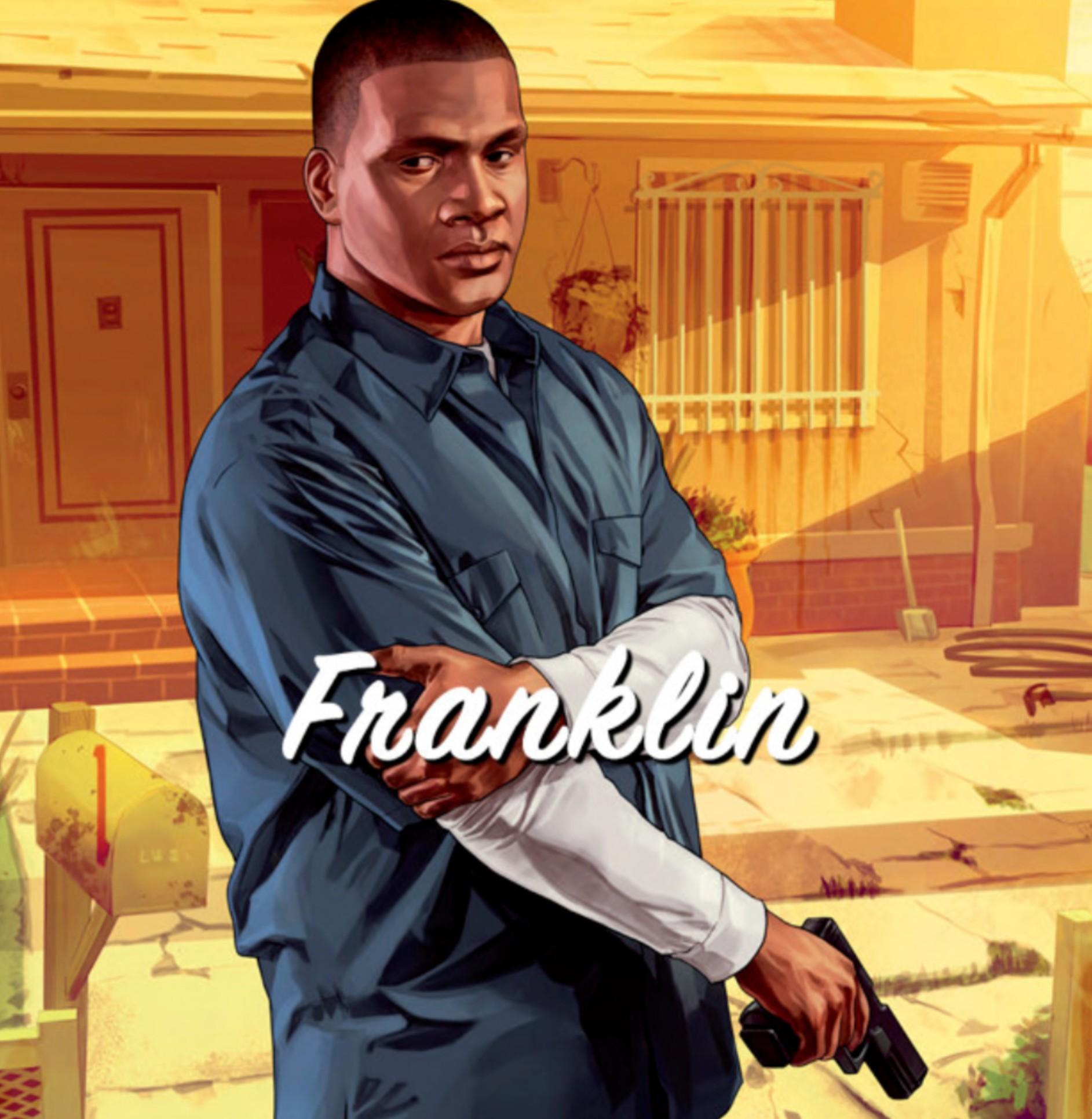 GTA5,富兰克林